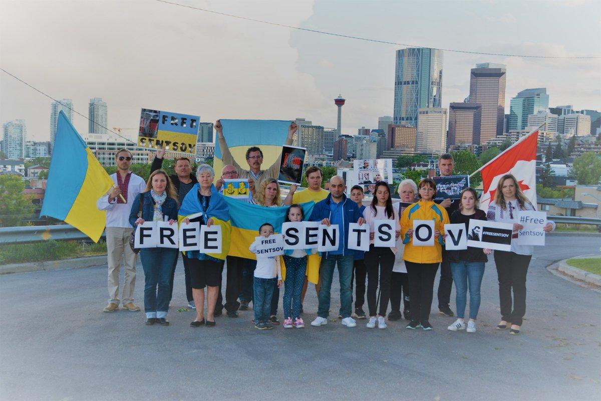 Canada tweets Russia, supporting Oleg Sentsov
