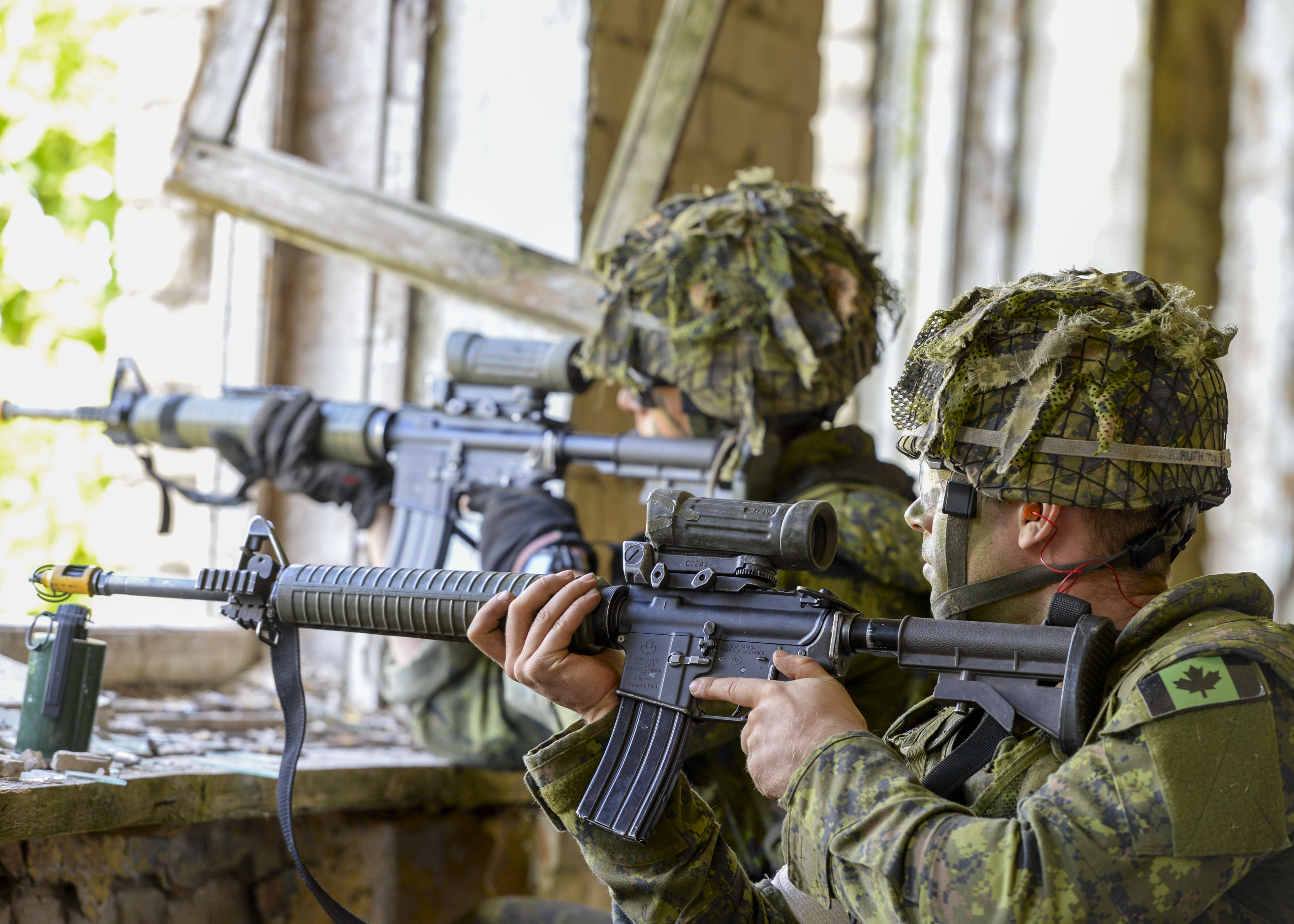 NATO-Canada-Latvia: military drill against an imaginable Russian aggression