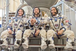 "Russian, Canadian and US ""brothers and sisters in arms"" are getting ready for their Space Mission"