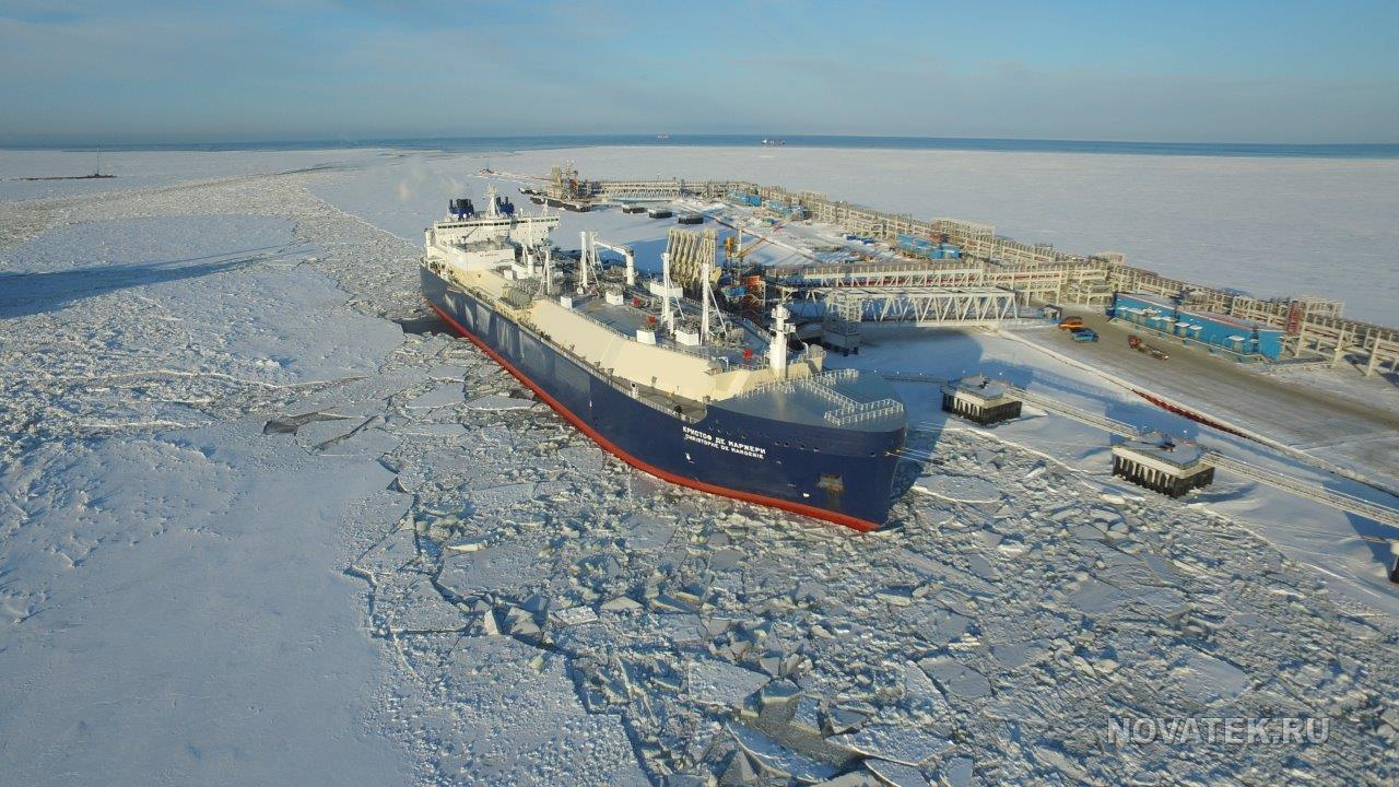 Russian liquefied natural gas in Canada