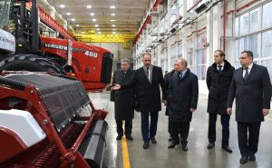 Previously manufactured in Canada, Russian tractors are moving back to Russia