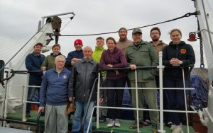 International Pacific salmon expedition: Russian context